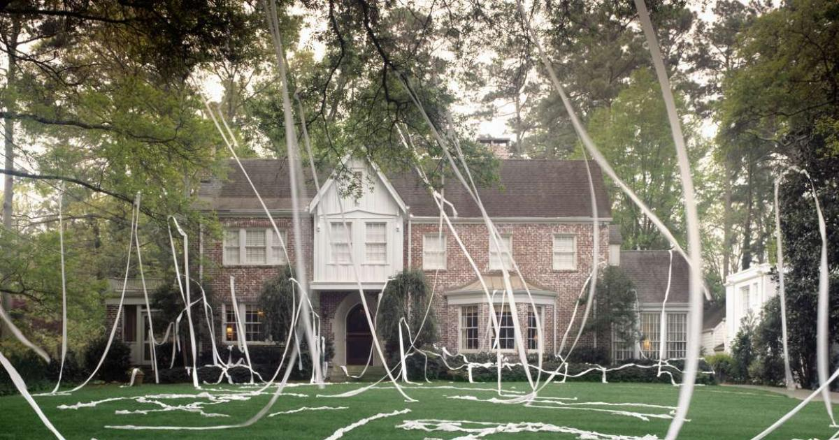 Mesmerizing Origin Of Toilet Papering Houses Pictures - Best ...